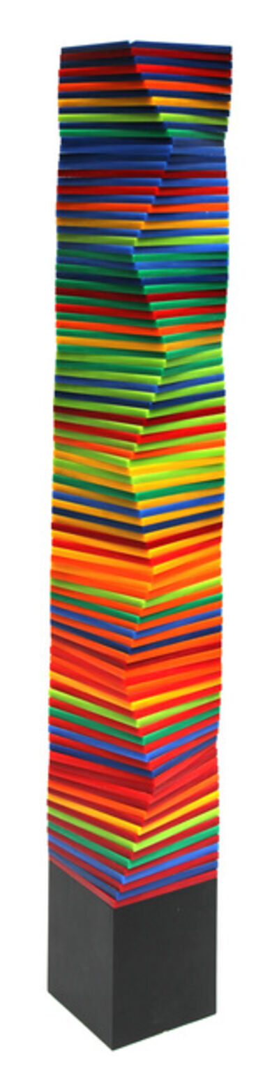 Francisco Sobrino, 'Colonna colorata', 1965
