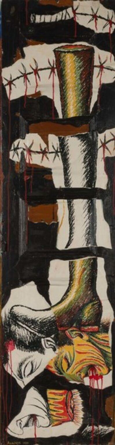 Luis Cruz Azaceta, 'Door of Oppression', 1989