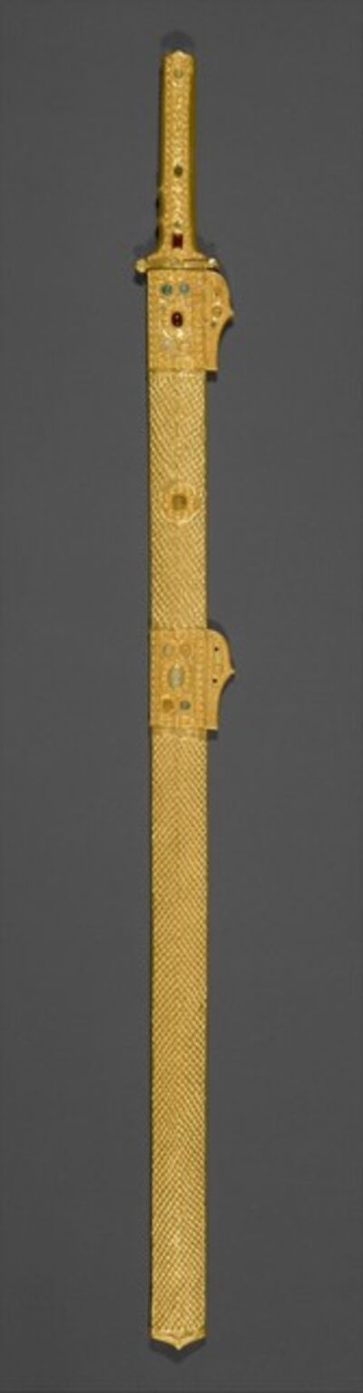 Unknown Sasanian, 'Sword and scabbard', ca. 7th century A.D.