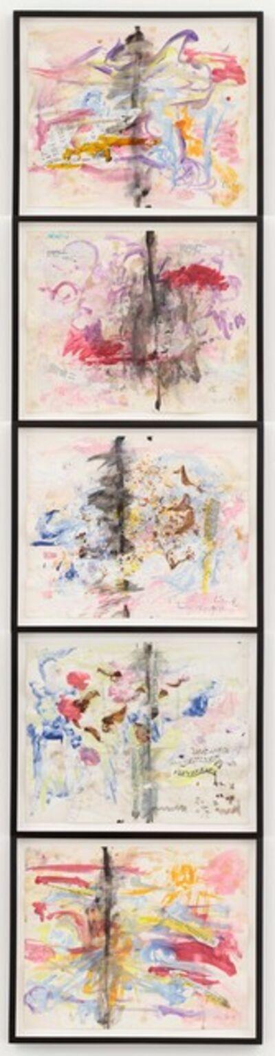Carolee Schneemann, 'Diario Cada Dia - Antibody Sequence', 1996