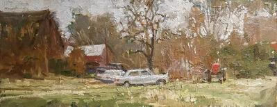 Michael Doyle, 'Barn, Truck, Mercedes, Tractor', 2018