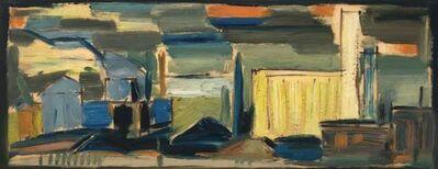 Werner Drewes, 'Industrial Scene', 1953