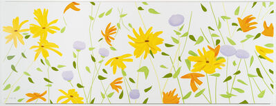 Alex Katz, 'Summer Flowers', 2018