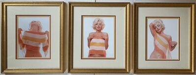 Bert Stern, 'Marilyn Monroe with Striped Scarf (triptych)', 1962