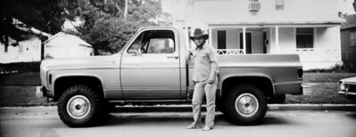 Thaddeus Holownia, 'Untitled (Bare Foot Cowboy) ', ca. 1974