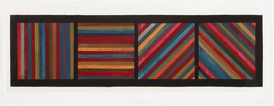 Sol LeWitt, 'Lines in Four Directions', 1991