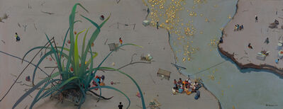 Zhou Jinhua 周金华, 'Grass and Gold 野草与黄金 No.2', 2017
