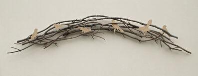 Ron Isaacs, 'Arc Avec Oiseaux'