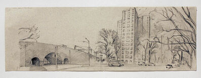 Rackstraw Downes, 'The Projects from Park Ave. & 102nd St.', 2008
