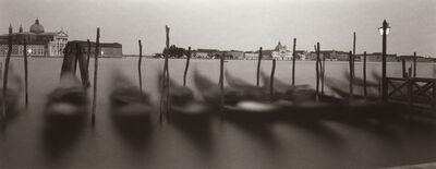 Dick Arentz, 'Gondolas, Venice, Italy', 1996