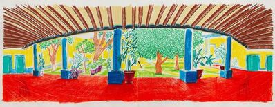 David Hockney, 'Hotel Acatlán: First Day, from Moving Focus', 1985