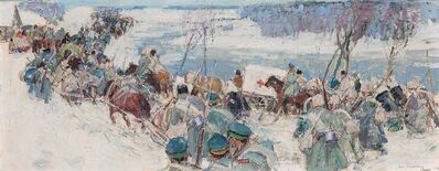Leon Gaspard, 'Troops in Winter', 1914 (16?)