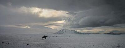 Nuri Bilge Ceylan, 'Horseman in the Snowy Steppe, Kars', 2004