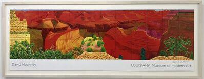 David Hockney, 'A Closer Grand Canyon Hand Signed', 2011