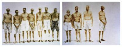 Helmut Stallaerts, 'Mannen in rij', 2005