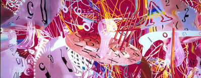 James Rosenquist, 'Time Blades--Learning Curves', 2007