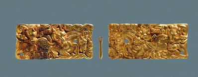 'Belt buckle', 206 BC -9 AD