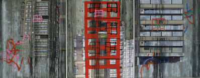 David Hepher, 'Durrington Towers I (Triptych)', 2007