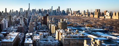 Benjamin Swett, 'Panorama View South from 30 East 85th Street, December 10, 2017, 8:14 AM', 2017