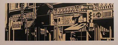 Robert Cottingham, 'Barrera-Rosa's', 1986