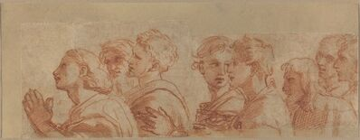 Raphael, 'Eight Apostles', ca. 1514