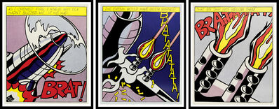 Roy Lichtenstein, 'As I Opened Fire', 1964