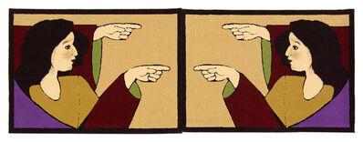 """Gülsün Karamustafa, 'Carpets on the theme of """"Promised Paintings""""', 2011"""