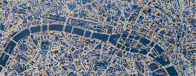 Barbara Macfarlane, 'Paris. Gold, Lapiz Lazuli, Emerald,', 2019