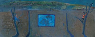 Zhang Yongxu, 'Moon Light on a Hillside I', 2009