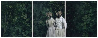 William Wegman, 'Hansel and Gretel', 2007