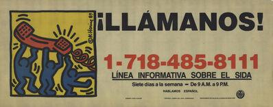 Keith Haring, 'Call Us!', 1989