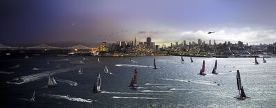 Stephen Wilkes, 'Day to Night, America's Cup, San Francisco', 2013