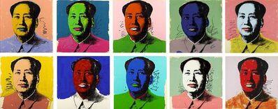 Andy Warhol, 'Mao (F. & S. II. 90-99)', 1972