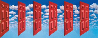 Patrick Hughes, 'Cloudy', 2008