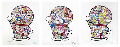 Takashi Murakami, 'Mr. Fujiko F. Fujio and Doraemon Are in the Fields of Flowers - Doraemon's Daily Life - Doraemon in the Fields of Flowers ', 2018