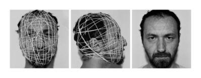 Decebal Scriba, ' Mask series #2', 1976