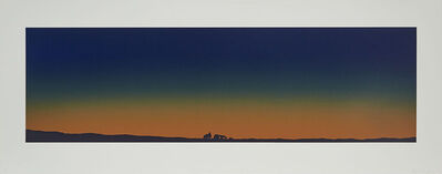 Ed Ruscha, 'Home With Complete Electronic Security System', 1982