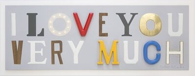 Peter Blake, 'I Love You Very Much', 2016