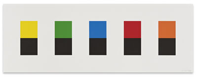 Ellsworth Kelly, 'Color Over Black', 2012