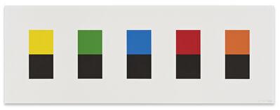 Ellsworth Kelly, 'Color Over Black', 2012