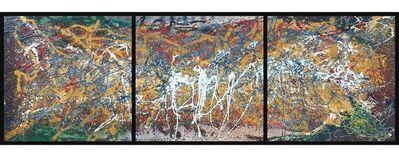 Bill Alpert, 'ALP 058 (triptych)', ca. 1970