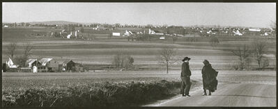 Barry L. Thumma, 'Amish Walk in Nature', 1970s
