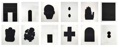 Antony Gormley, 'Bearing Light (Collection of 12 Prints) (Ed. 22 of 30)', 1990