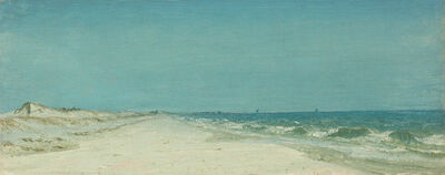 Sanford Robinson Gifford, 'On the Long Island Coast', ca. 1860s