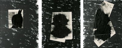 Jannis Kounellis, 'Senza titolo (Trittico)', 1998