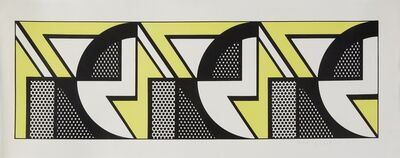 Roy Lichtenstein, 'Repeated Design', 1969