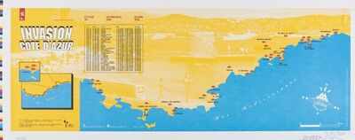 Invader, 'Cote D'Azur', 2007