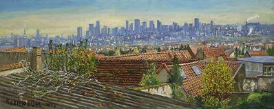 Jürg Kreienbühl, 'Vue sur Paris', 2003