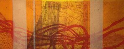 Sarah Amos, 'Sage Brush Desert', 2008
