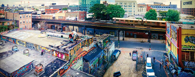 Jeff Chien-Hsing Liao, '5 Pointz, Long Island City from Habitat 7', 2004